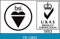 Accredited with BSI Quality Management Systems Registration